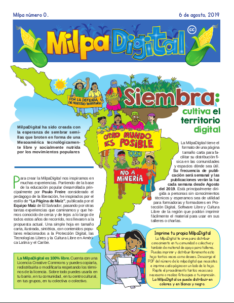 Milpa Digital #0